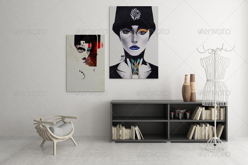Art Wall Mockups Vol 4