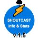 Shoutcast Info & Stats (v1.5)