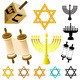 Judaism Elements - GraphicRiver Item for Sale