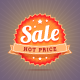 Hot Price Badge - GraphicRiver Item for Sale