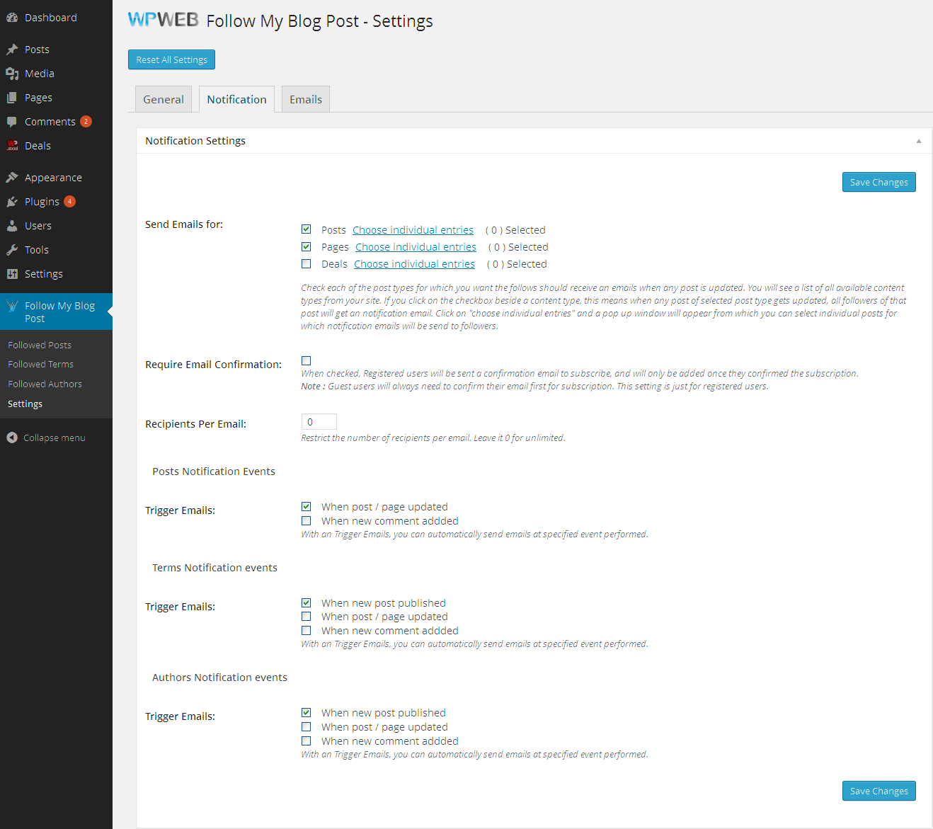 04f722d5d8 Follow My Blog Post - WordPress Plugin - CodeCanyon Item for Sale.  Screenshots 1.png Screenshots 10.png Screenshots 11.png Screenshots 12.png  ...