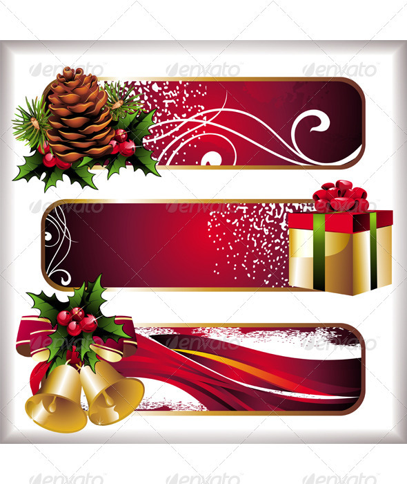 Christmas Banners 1 - Christmas Seasons/Holidays