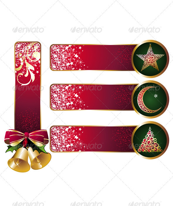 Christmas Banners Set 3 - Christmas Seasons/Holidays