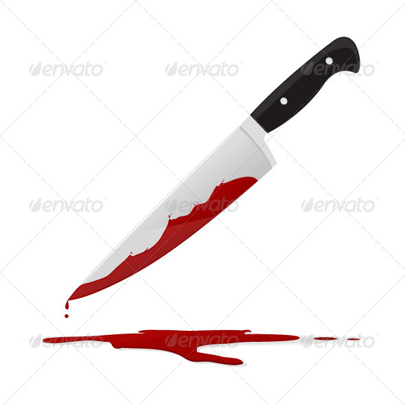 Knife and Murder Graphics, Designs & Templates from GraphicRiver