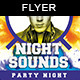 Night Sounds | Party Flyer Template