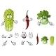 Vegetable Cartoons