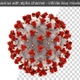Coronavirus Covid-19 With Alpha Channel - VideoHive Item for Sale