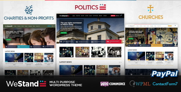 Westand - Multi Purpose WordPress Theme - Political Nonprofit