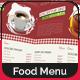 Restaurant Menu Design - GraphicRiver Item for Sale