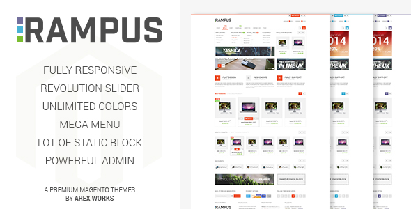 Rampus – Responsive HighTech Magento Theme