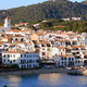 Mediterranean Fishing Village Panoramic - VideoHive Item for Sale