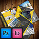 Portolio Corporate Tri-Fold Brochure Template - GraphicRiver Item for Sale