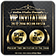 Golden VIP Invitation - GraphicRiver Item for Sale