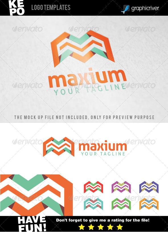 Maxium - M Letter Logo Templates - Letters Logo Templates