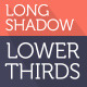 Long Shadow Lower Thirds - VideoHive Item for Sale