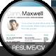 Minimalistic Simple Resume / CV