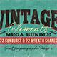 Vintage Elements Bundle - GraphicRiver Item for Sale