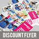 Discount Flyer - GraphicRiver Item for Sale