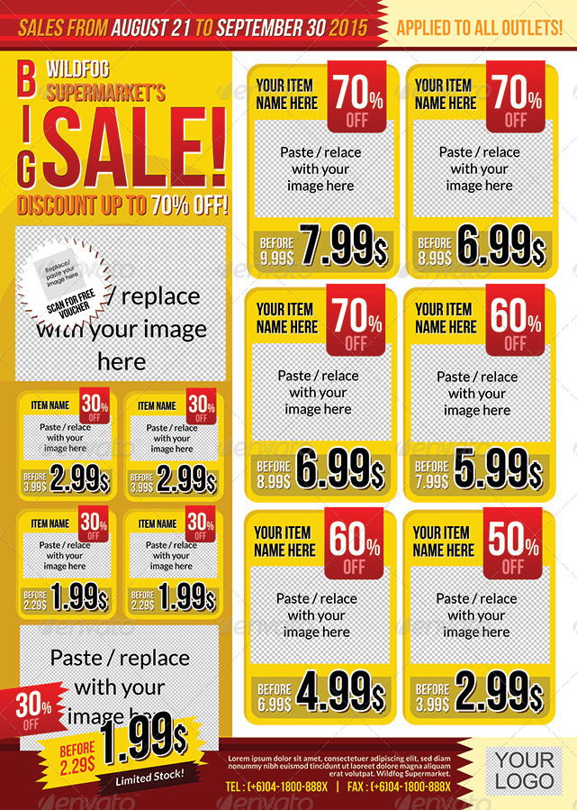 Big Sale Promotion Flyer By Shamcanggih Graphicriver