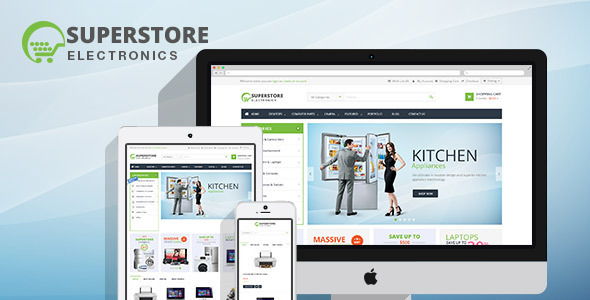 Lexus SuperStore MultiPurpose Opencart Theme - Shopping OpenCart
