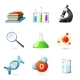 Science Realistic Icons - GraphicRiver Item for Sale