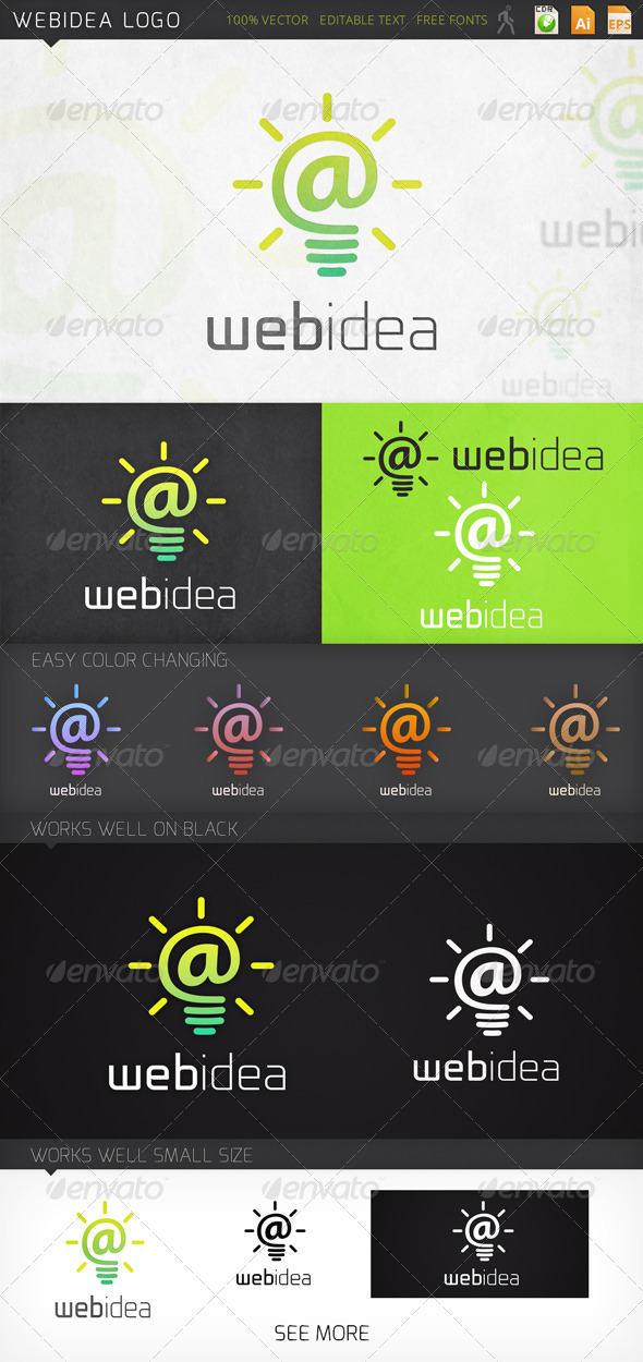 Webidea Logo Template - Symbols Logo Templates