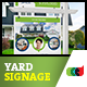 Printable Modern Real Estate Yard Signage Template 9 + Riders - GraphicRiver Item for Sale