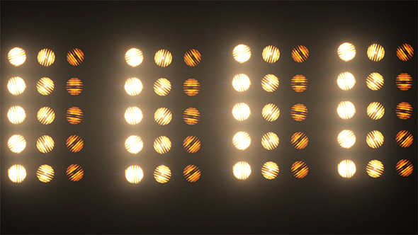 Stage Lights Flashing By Hk Graphic Videohive