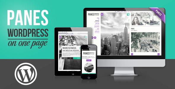 Panes – WordPress on One Page