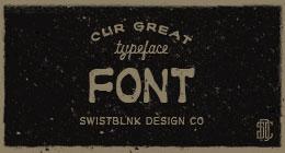 Swist'Blnk Typeface