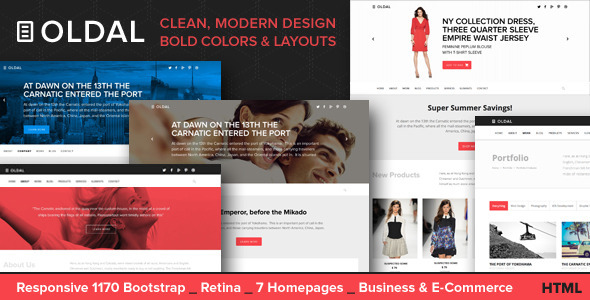 Oldal - Responsive HTML5 Business Template - Business Corporate