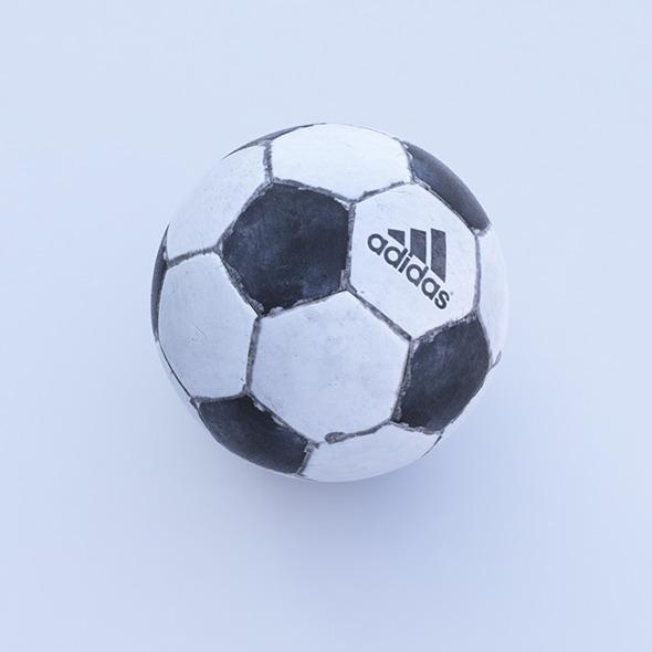 Dirt football - 3DOcean Item for Sale