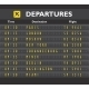Airport Board Print - GraphicRiver Item for Sale