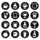 Drink and Beverage Icons Set - GraphicRiver Item for Sale