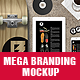 Mega Branding Mock Up - GraphicRiver Item for Sale