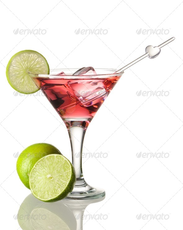 Cosmopolitan cocktail - Stock Photo - Images