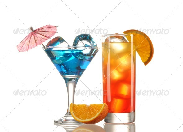 Tropical cocktails - Stock Photo - Images