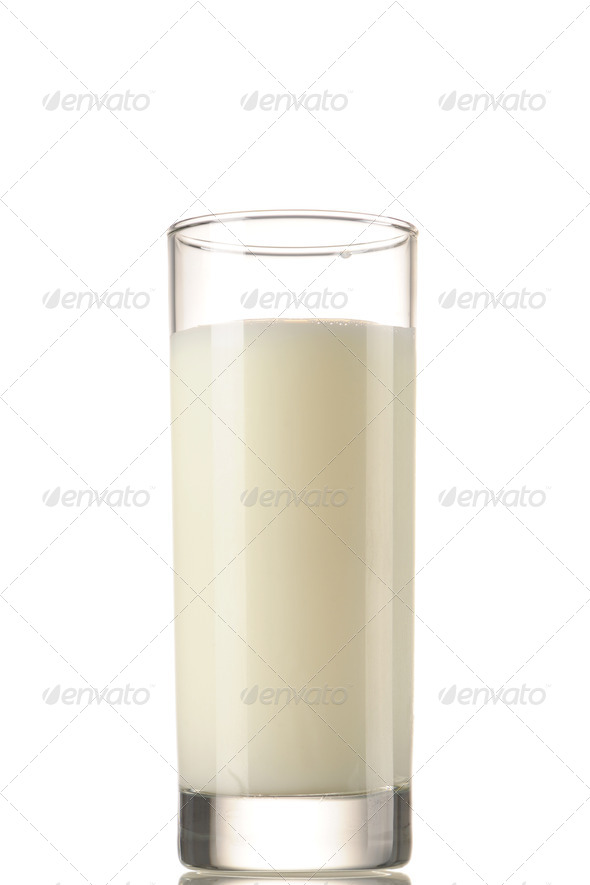 Glass of milk - Stock Photo - Images