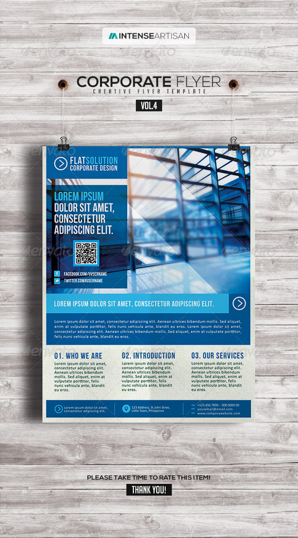 Corporate | Creative Poster | Flyer V.4 - Corporate Flyers