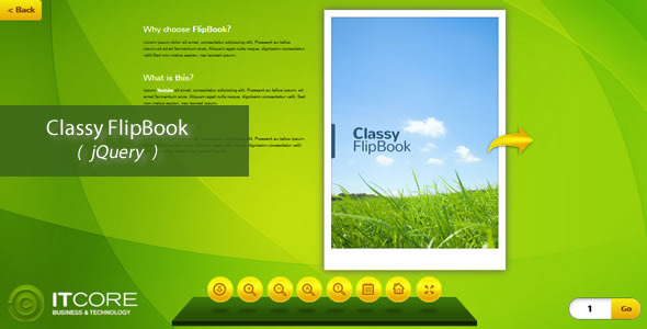 Classy FlipBook Responsive jQuery Plugin - CodeCanyon Item for Sale