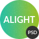 Alight - Multipurpose Onepage & Multipage PSD
