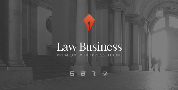 LawBusiness - Attorney & Lawyer WordPress Theme - Business Corporate