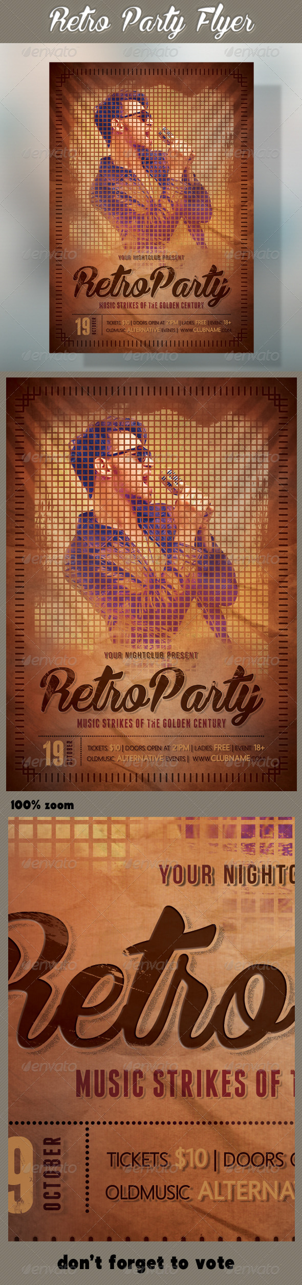 Retro Party Flyer 03