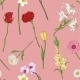 Seamless Pattern of Flowers - GraphicRiver Item for Sale