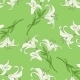 Seamless Pattern of Lily on Green Background - GraphicRiver Item for Sale