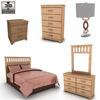 Ashley bedroom set 590 0002.  thumbnail