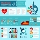 Flat Medical Infographics - GraphicRiver Item for Sale