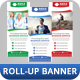 Corporate Roll-up Banner Vol 5 - GraphicRiver Item for Sale
