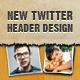 New Twitter Header Background Design - GraphicRiver Item for Sale