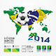 Infographic Soccer Ball Geometric - GraphicRiver Item for Sale